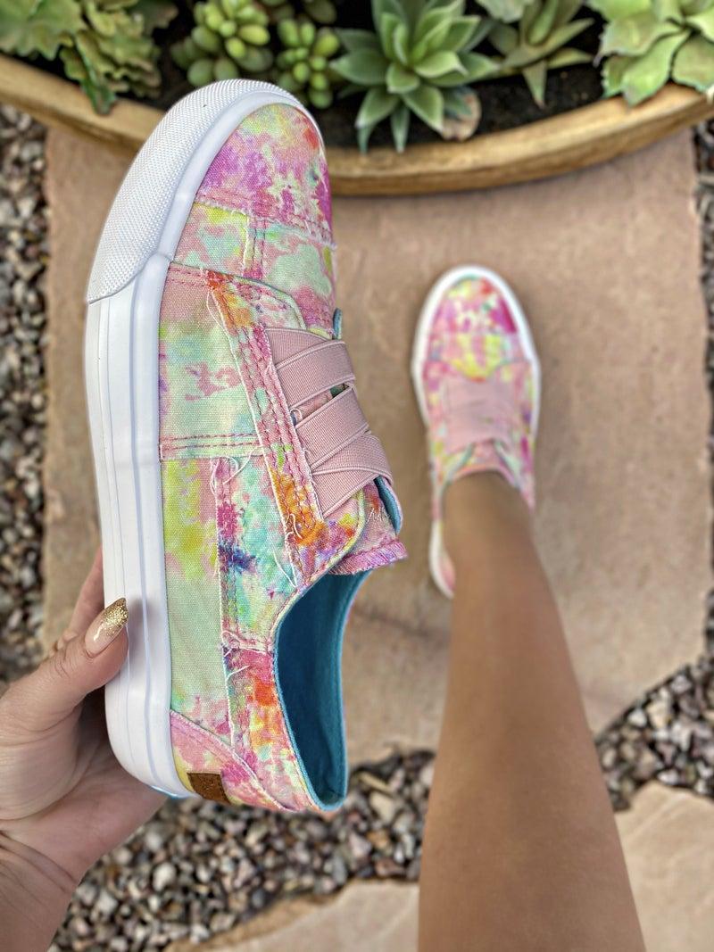 """Blowfish Pink Rainwater """"Marley"""" Sneakers"""