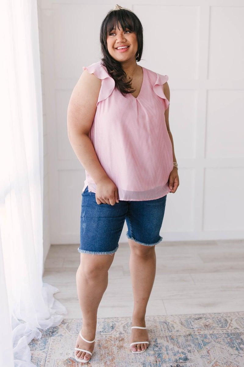 Blush & Shimmer Blouse