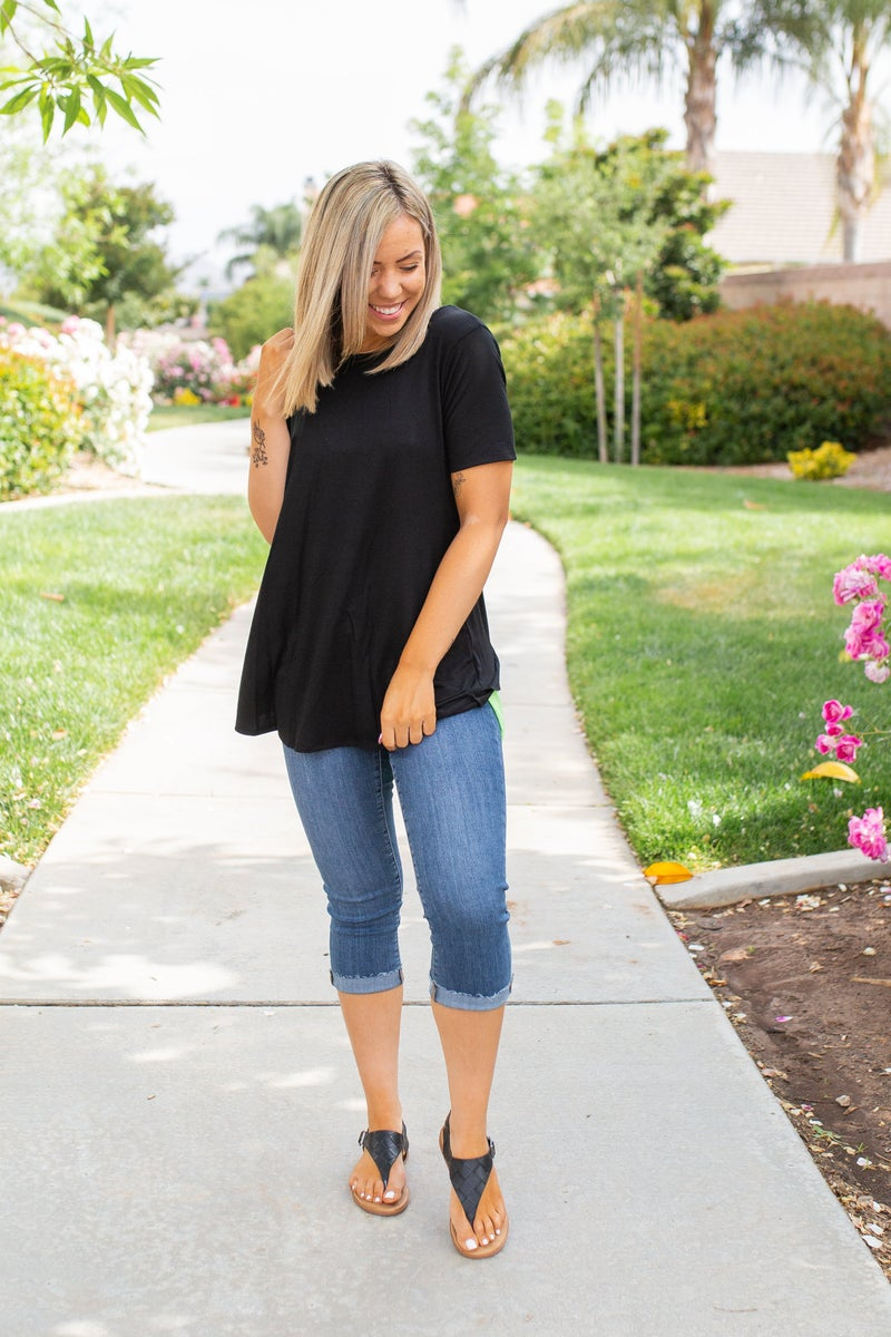 Lime-A-Rita Short Sleeve Top