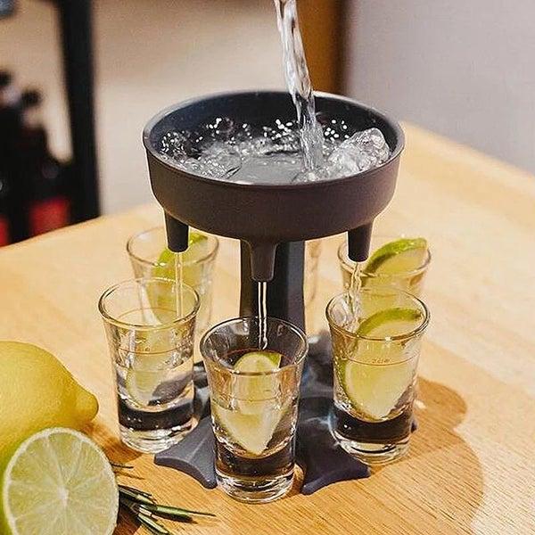 Shot glass dispenser