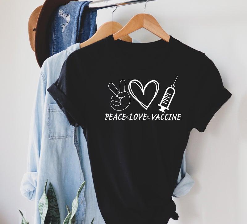 Peace love vaccinate