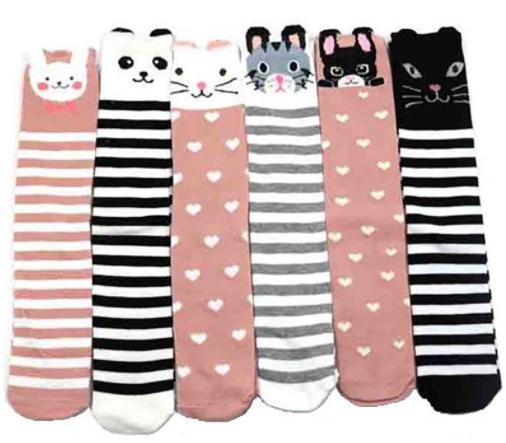 Kids Animal Knee High Socks