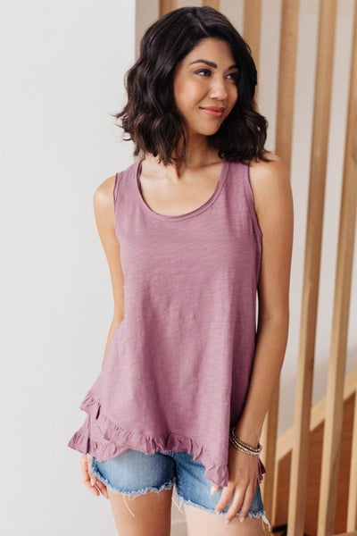Anything But Ordinary Tank in Mauve