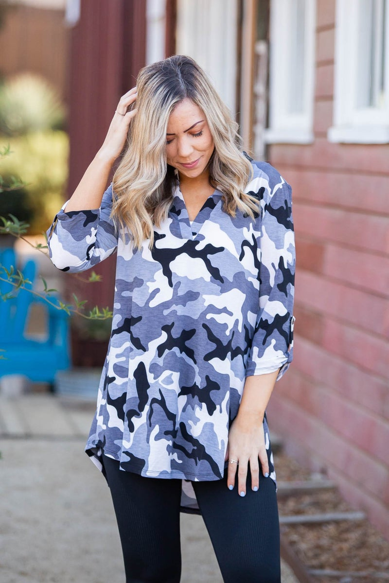 Master of Disguise 3/4 Sleeve Top