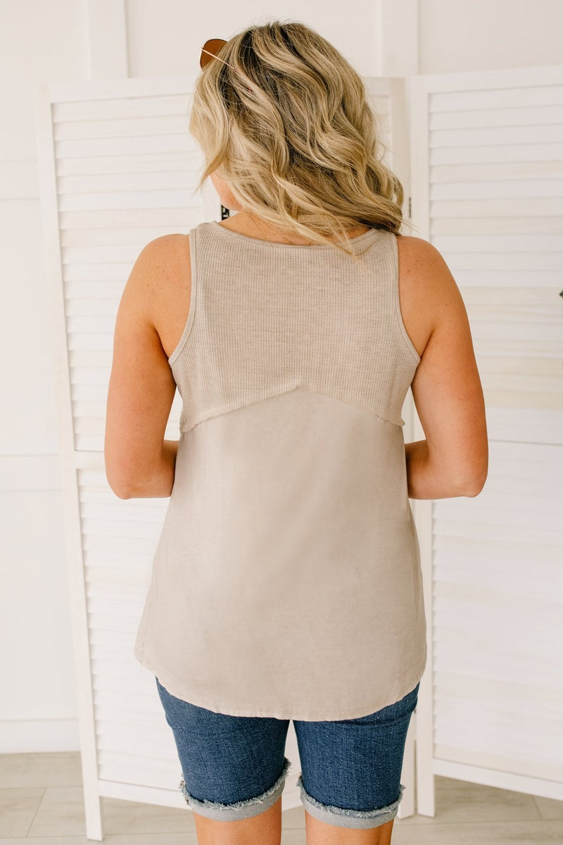 Thank Your Tank in Taupe