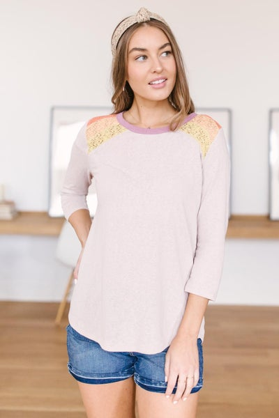 Playful Patches Top