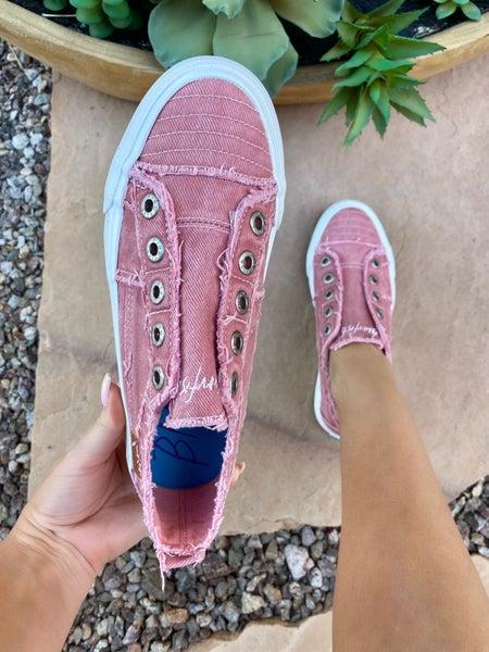 Blowfish Play Sneakers in Dusty Pink