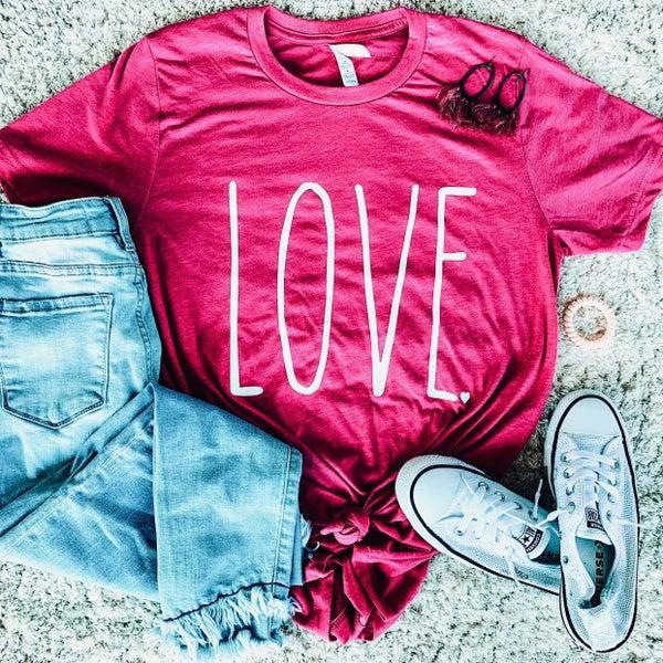 LOVE V-day Shirt