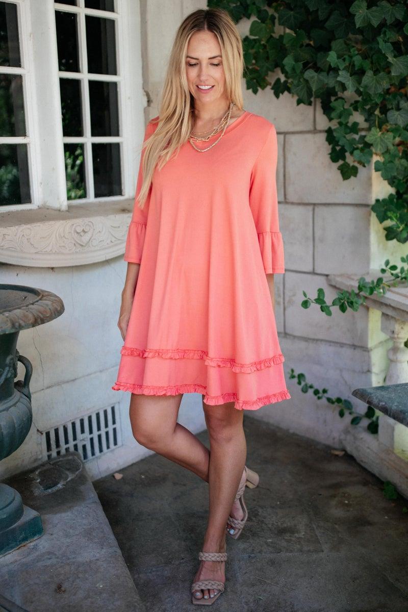 Coral Coast Dress