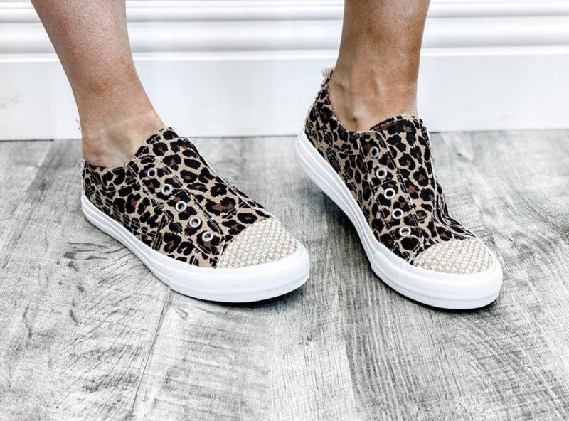 """Gypsy Jazz Leopard """"Jolly"""" Sneakers"""