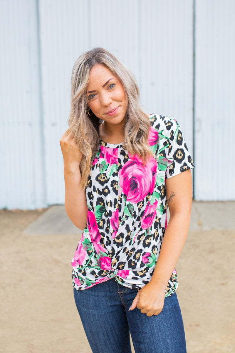 Once Upon A Dream Twist Top