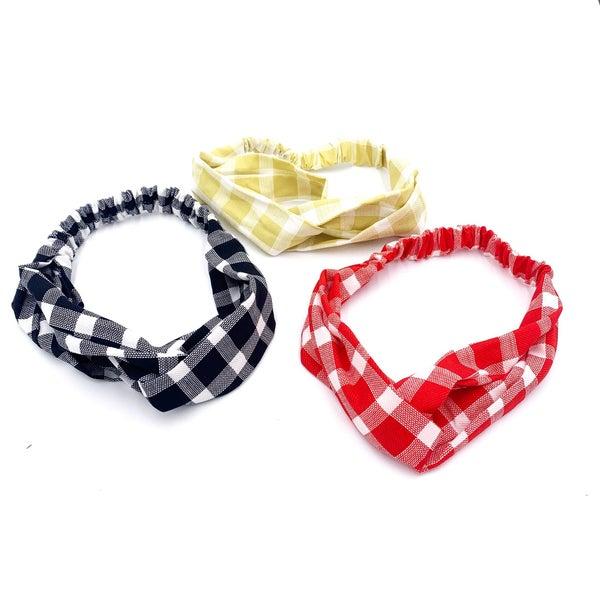 Picnic Plaid Headband