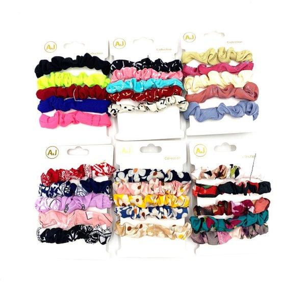 Variety Scrunchie Set