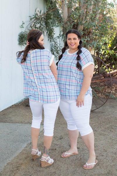 Girl Next Door Short Sleeve Top
