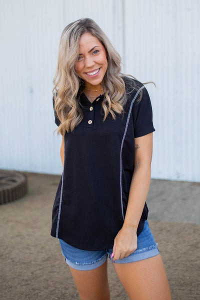 Bound To You Short Sleeve Top