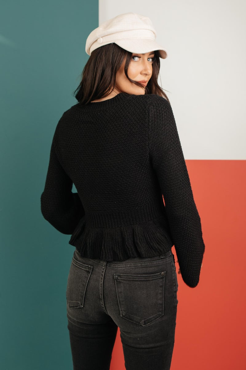 The Hadlee Babydoll Sweater