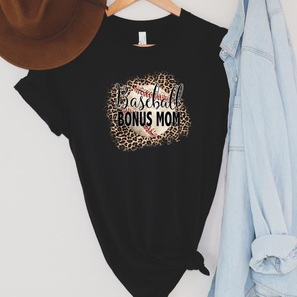 Leopard baseball bonus mom