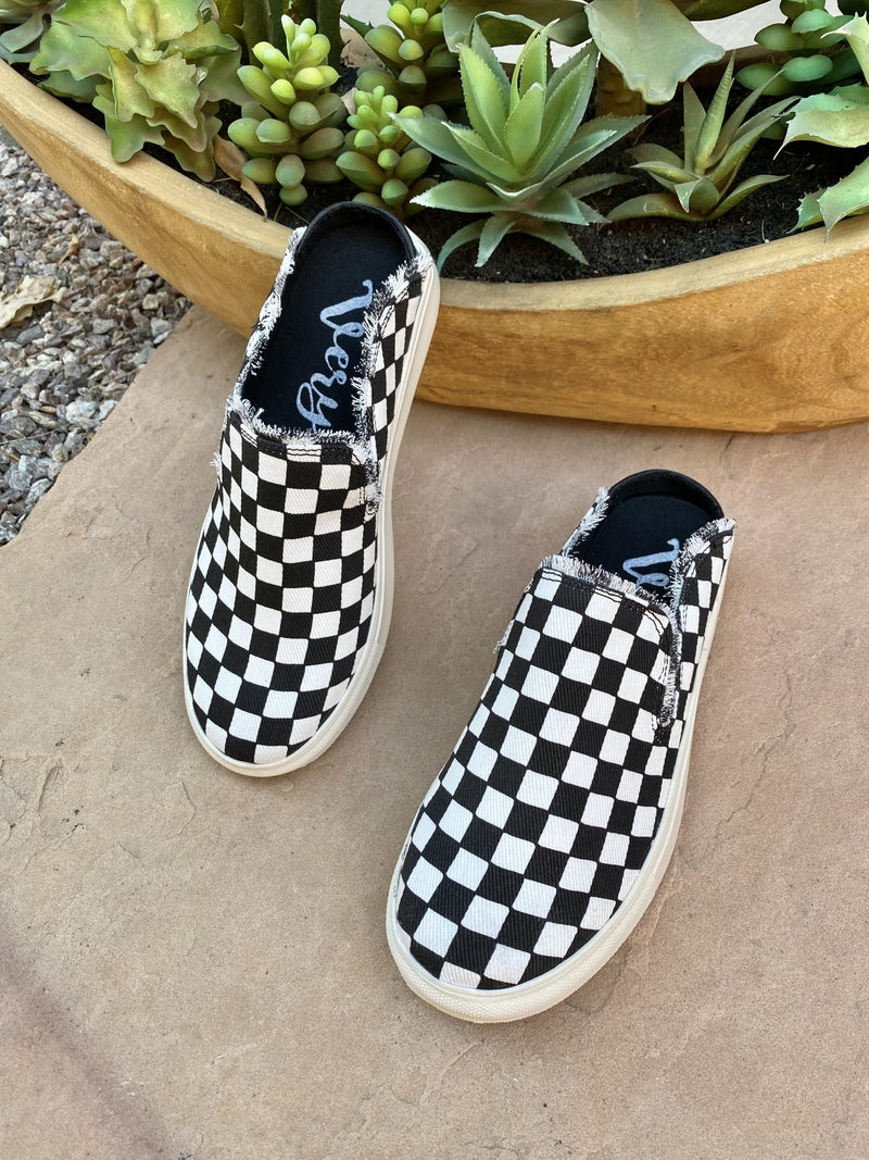 Very G Check Me Out Triana Slip On Sneakers