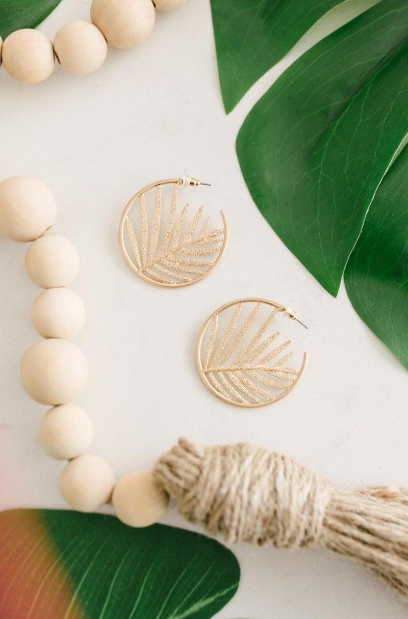 Details Matter Palm Earring