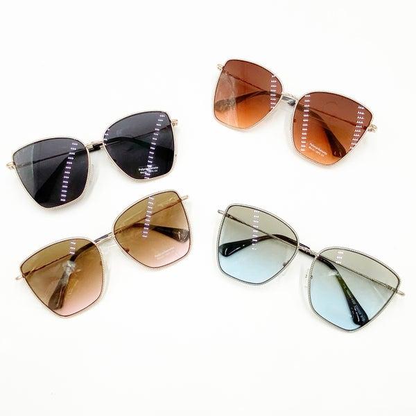 Braided Cat Eye Sunglasses