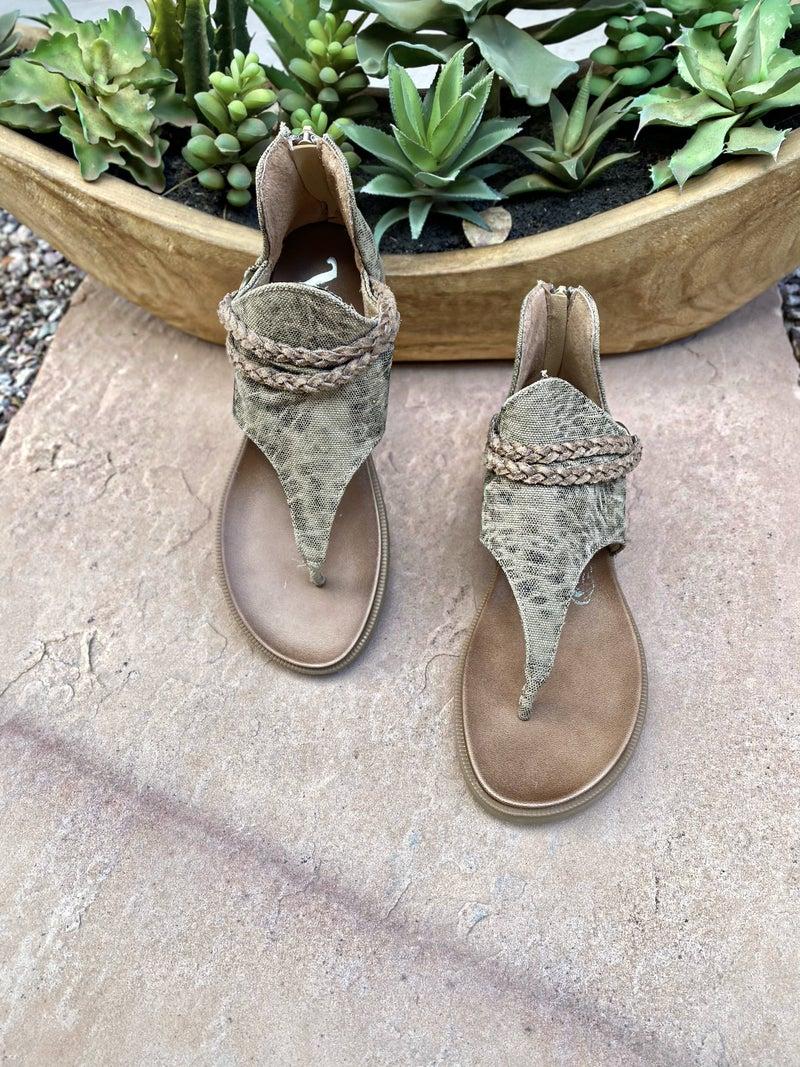 "Very G Beige ""Sariah"" Sandals"