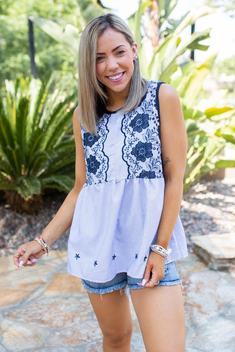 Made With Love Embroidered Top