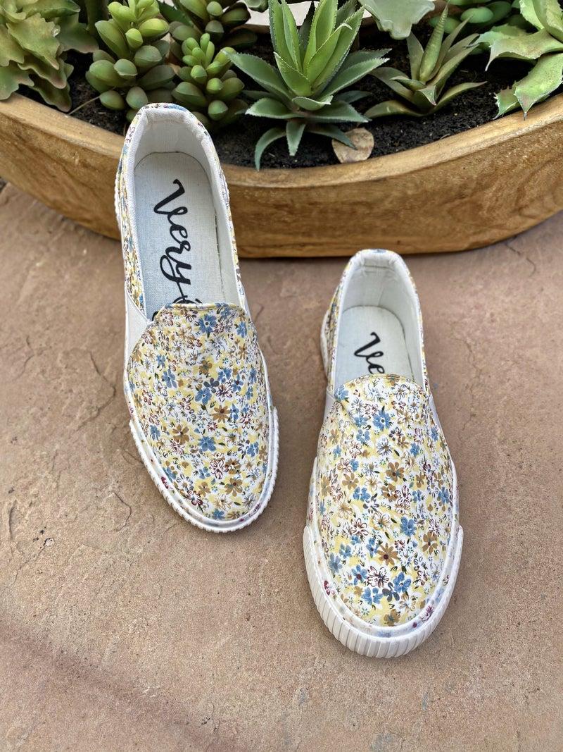 "Very G Cream ""Roxanne"" Sneakers"