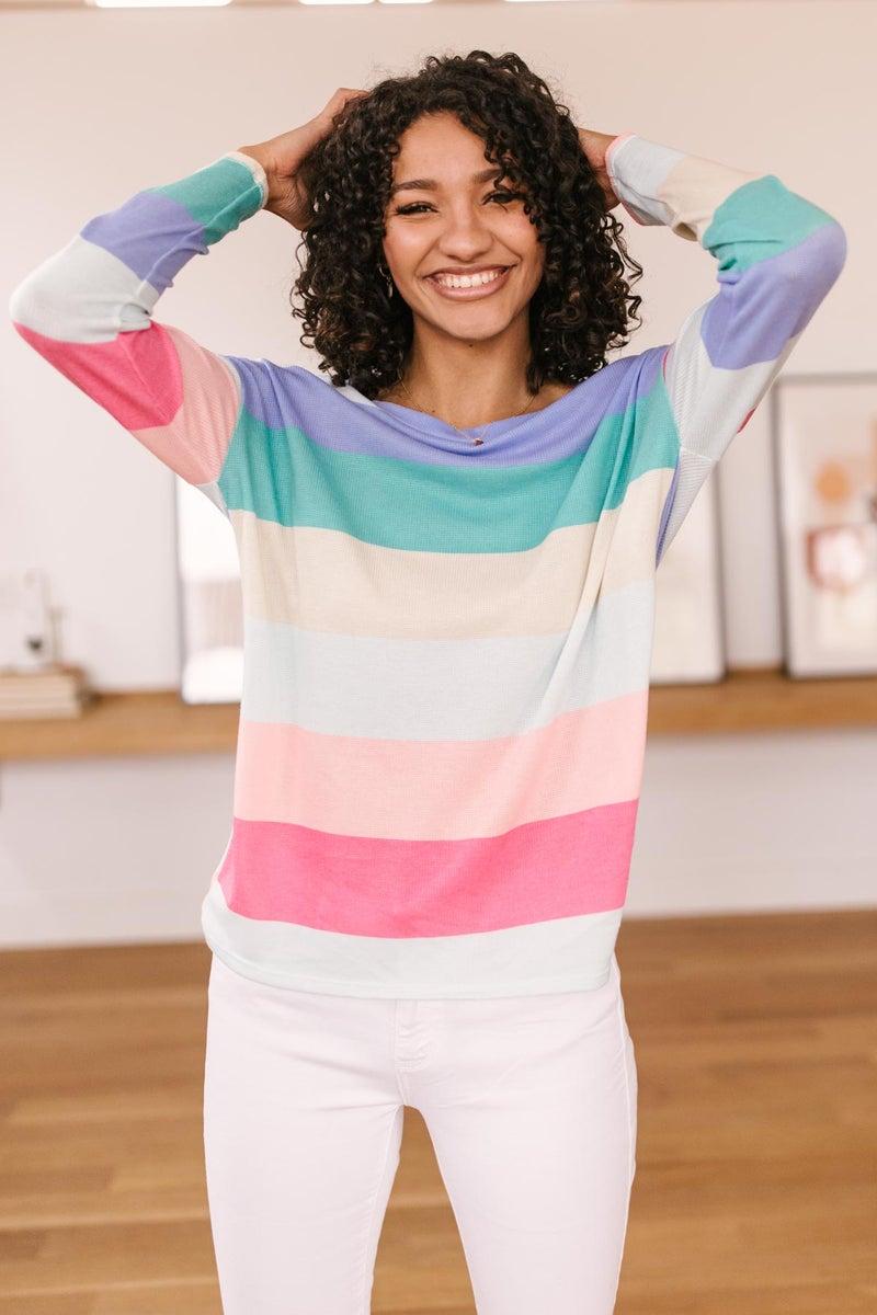 Tina Striped Top