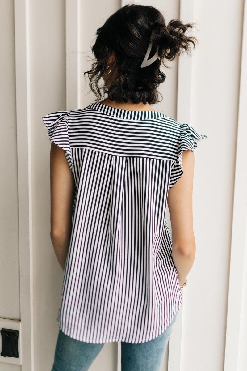 Victoria Striped Top