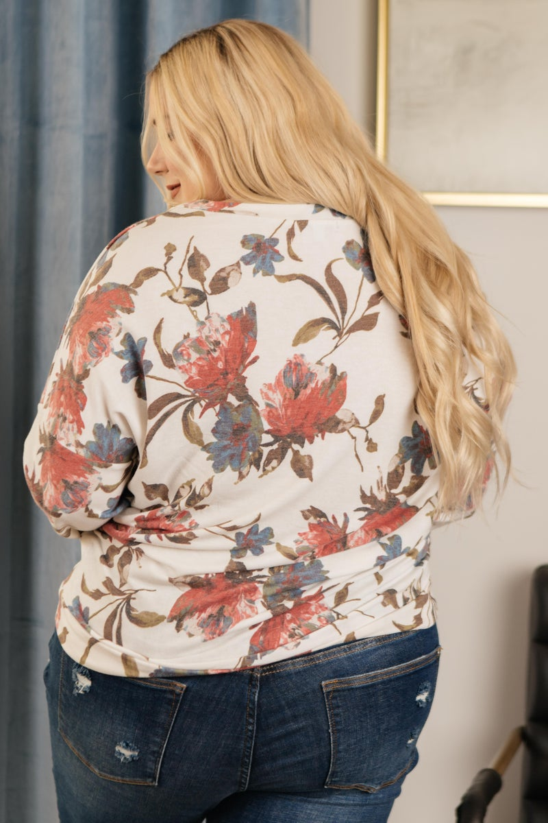 The Bailey Top in Ivory