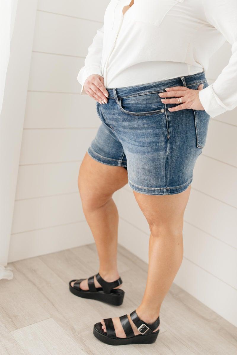 Bring On Spring Denim Shorts