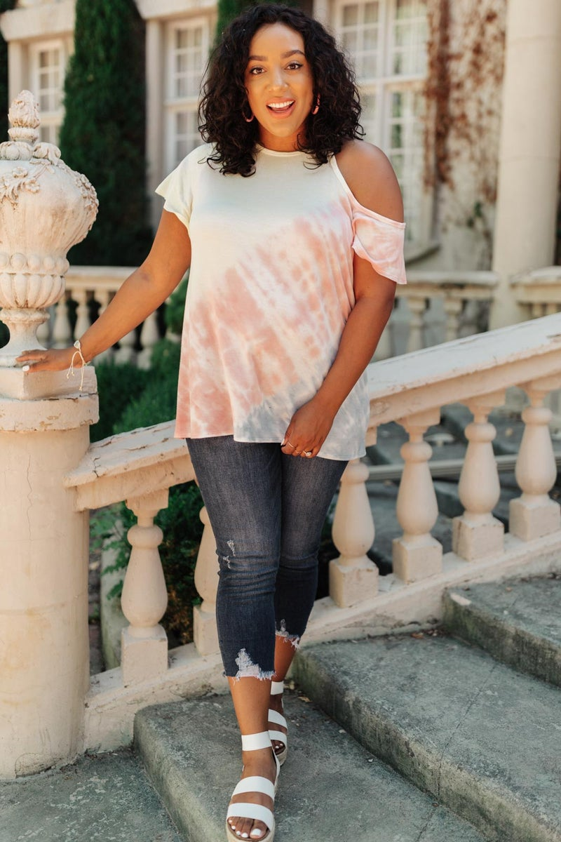 Melting Monday Top in Sunset