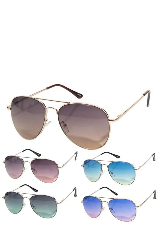 Feminine Aviator Sunglasses