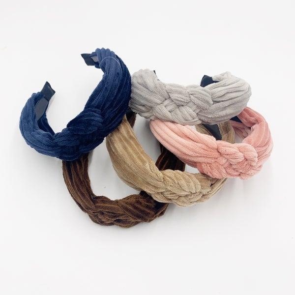 Braided Ribbed Headband