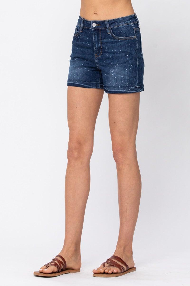 Galaxy Splatter Shorts