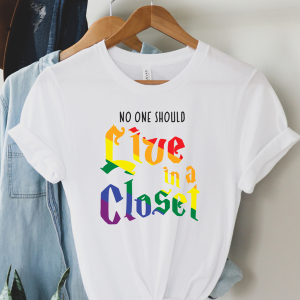 No one should live in a closet