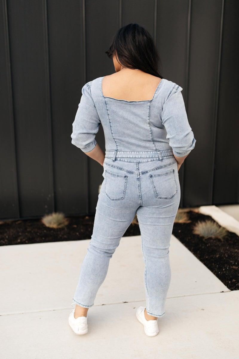 Sloane Square Neck Jumpsuit