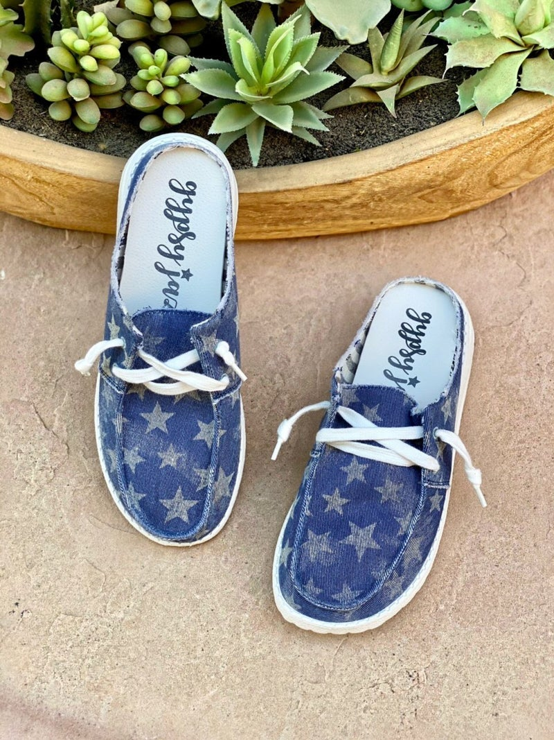 Gypsy Jazz Alice Star Slip-on Sneakers