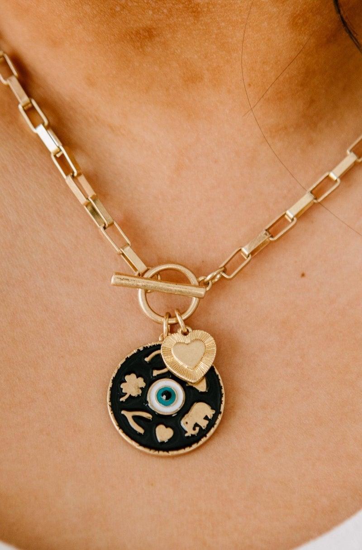 Evil Eye Charm Necklace