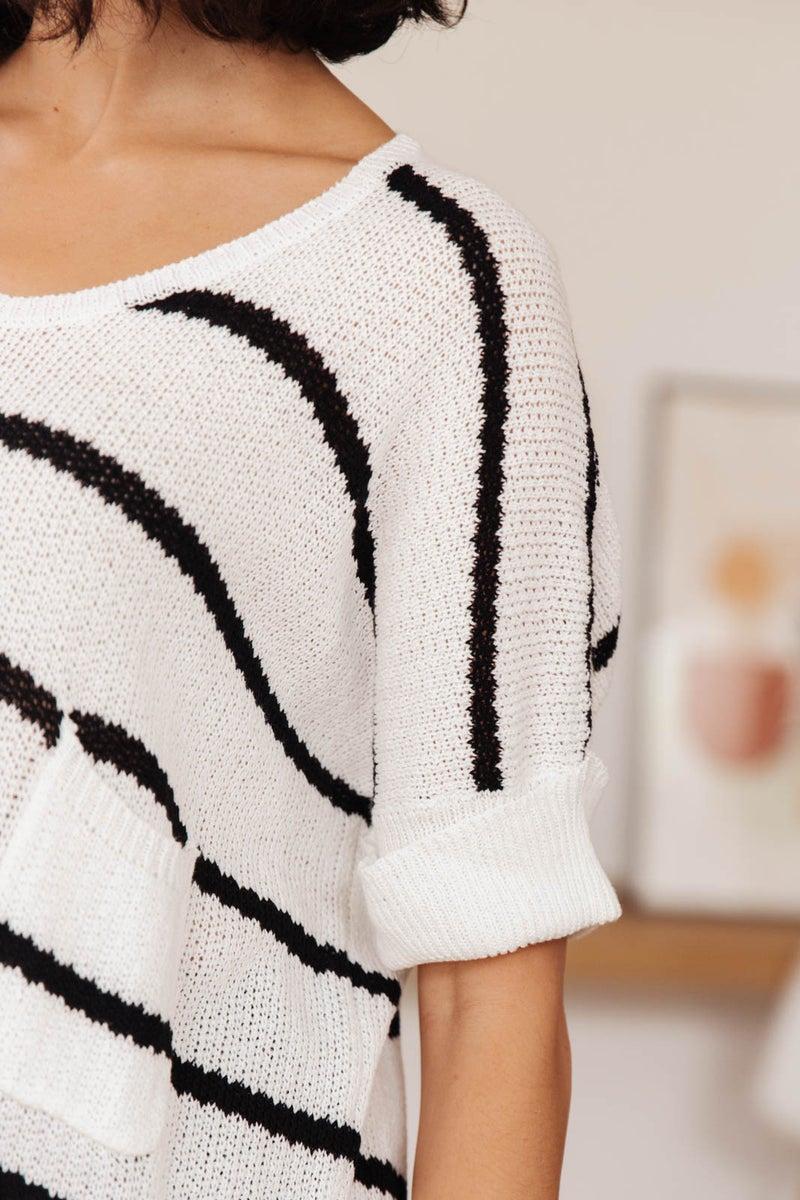 Cliffside Short Sleeve Knit Top