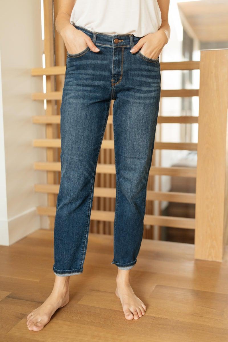 Plain And Perfect Medium Wash Jeans