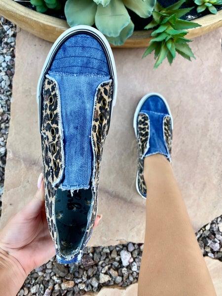 Gypsy Jazz Double Sided Leopard Sneaker