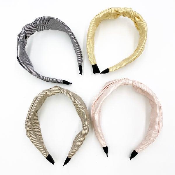 Pin Stripe Headband