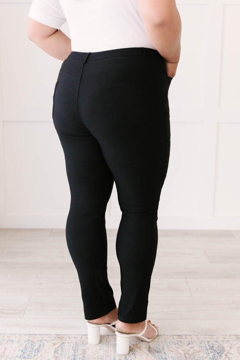 Stroke Of Midnight Black Pants
