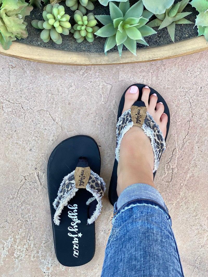 Gypsy Jazz Sloan Leopard Flip-Flop
