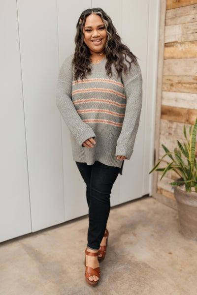 Eliza Striped Sweater