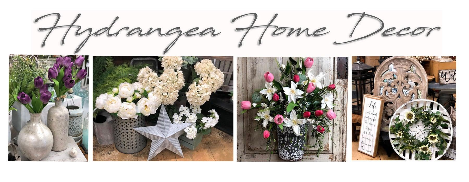 Hydrangea Home Decor
