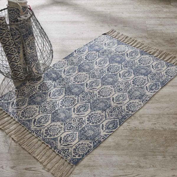 Mosaic Tile Print Rug