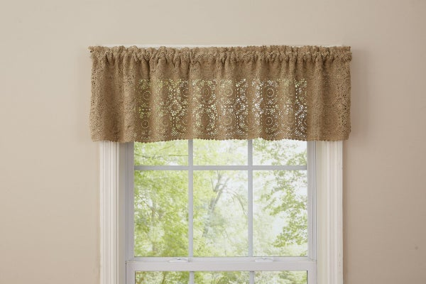 Lace Valance - Oatmeal