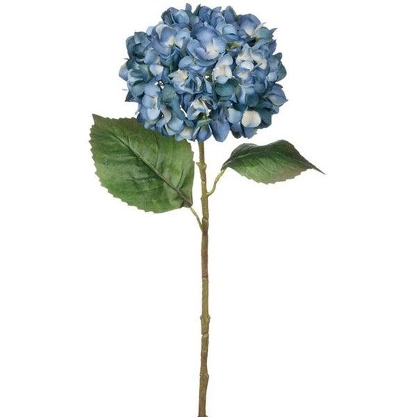 Tall Hydrangea Stem - Blue